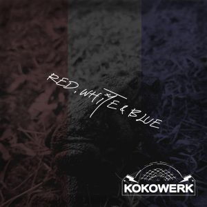 KOKOWERK Red, White & Blue Single